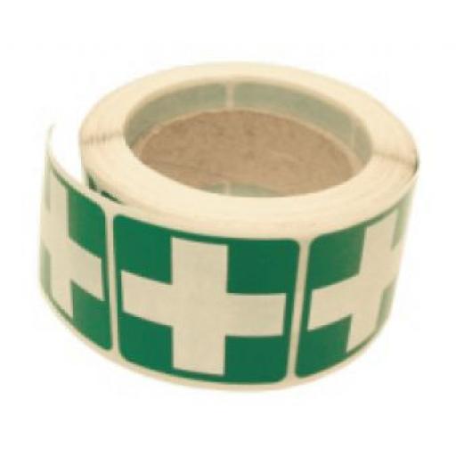 First Aid Logo - Helmet Stickers