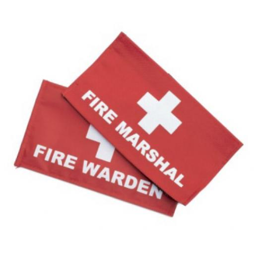 Fire Marshal / Warden Armband