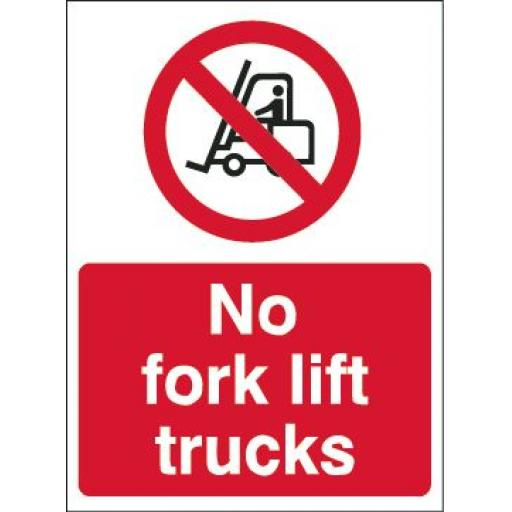 No fork lift trucks