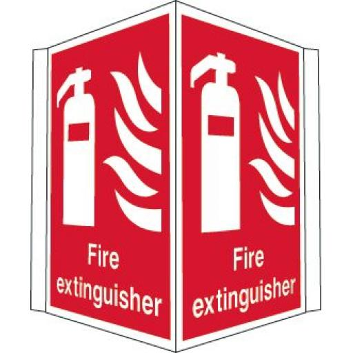 Fire extinguisher (Projecting sign)