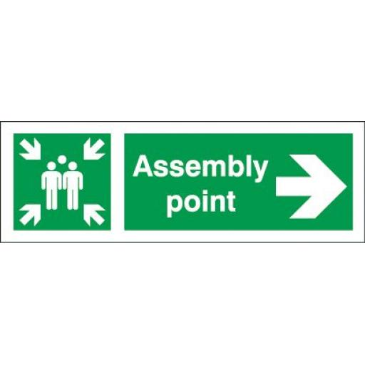 Assembly point - Right arrow