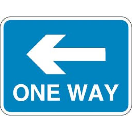ONE WAY (Arrow Left)