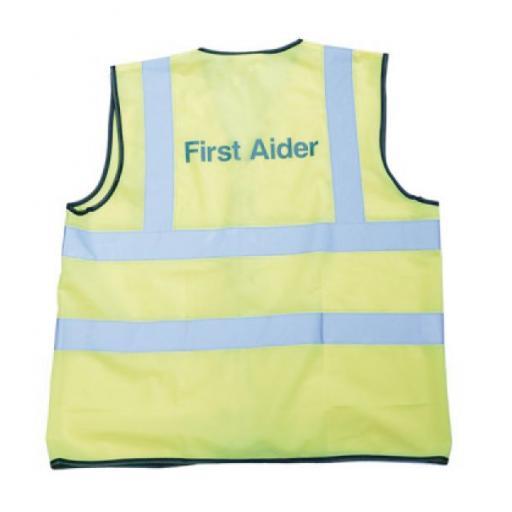 First Aider Hi - Viz Vest