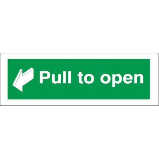 Pull to open