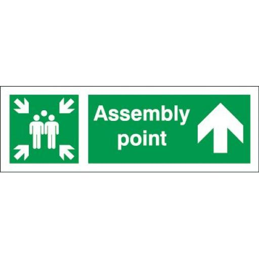 Assembly point - Up arrow