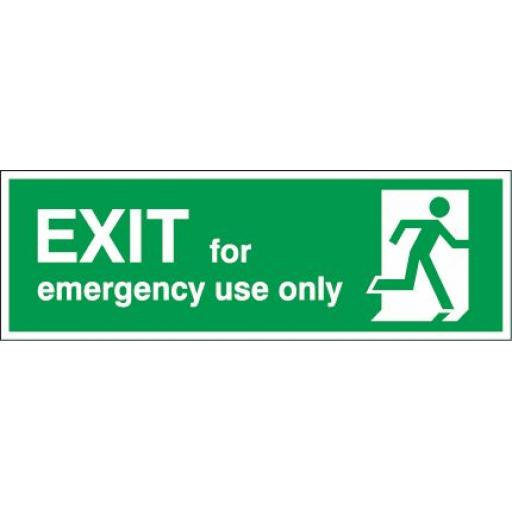 EXIT - for emergency use only