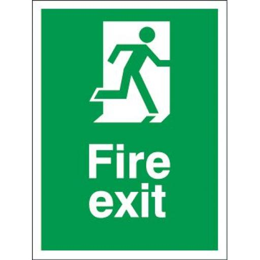 Fire exit - Man running
