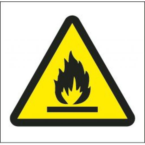 Flammable logo