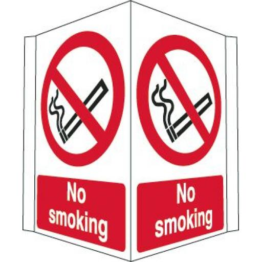 No smoking (Projecting sign)