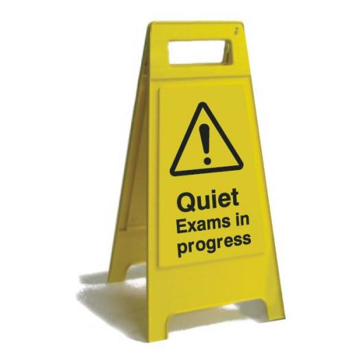 Quiet Exams in progress