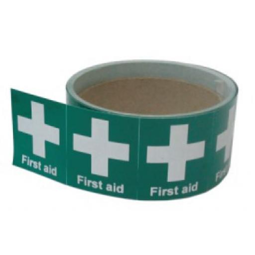 First Aid - Helmet Stickers