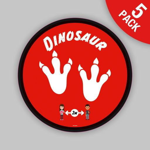Dinosaur - Floor Graphics (bulk pack)
