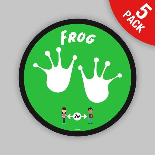 Frog - Floor Graphics (bulk pack)