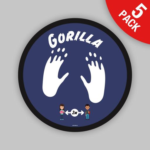 Gorilla - Floor Graphics (bulk pack)