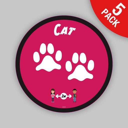Cat - Floor Graphics (bulk pack)